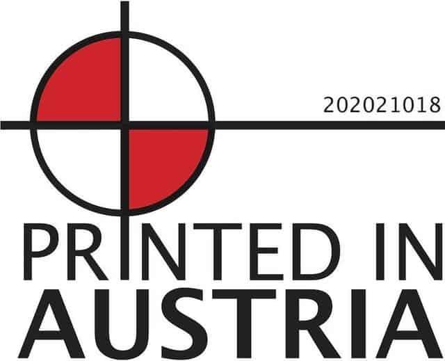 Auch 2021 dürfen wir das Gütesiegel PRINTED IN AUSTRIA  führen. Dieses Herkunfts...